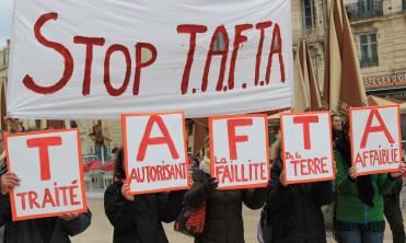 StopTAFTA mouvement citoyen