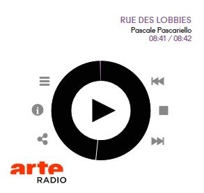 Capture rue des Lobbies ARTE radio