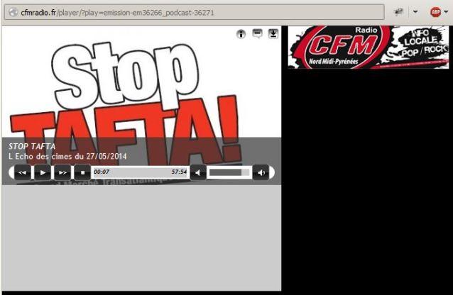 Capture stoptafta 12 radio 2
