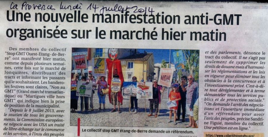 Martigues manif 14 juillet Capture