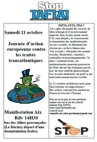 11 octobre Aix