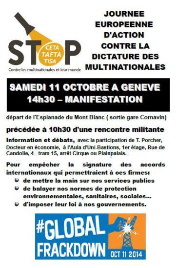 11 octobre Geneve