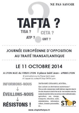 11 octobre Lyon