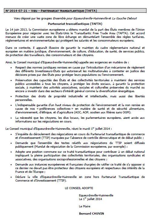 Equeurdreville-Hainneville motion tafta 2