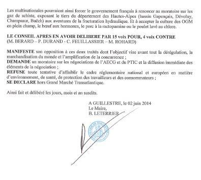 Guillestre motion Tafta 2