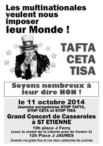 11 ocotbre Saint Etienne