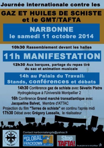 11 octobre  Narbonne couleur