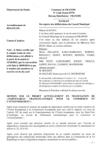 Franois motion tafta 1
