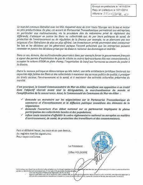 Mur-ès-Allier motion tafta 2