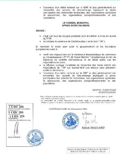 Castelnaudary motion Tafta 3
