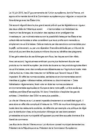 Villeneuve sur Lot 47 motion tafta 1