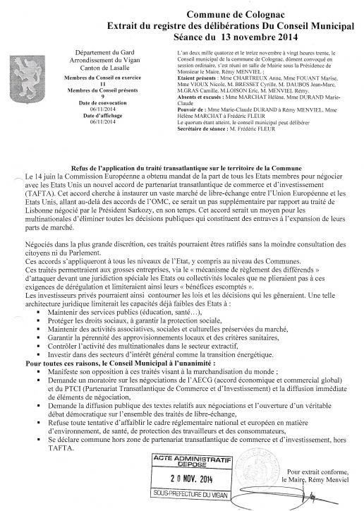 Colognac 30 motion tafta