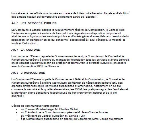 esneux belgique motion tafta 3