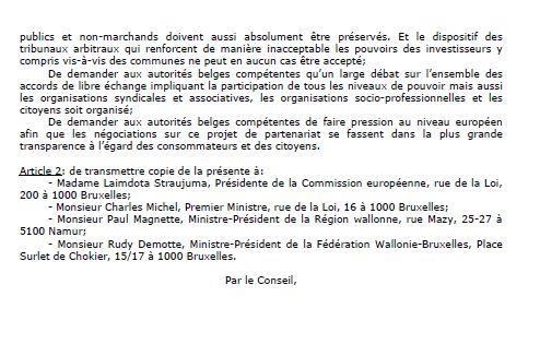jalhay belgique motion tafta 2