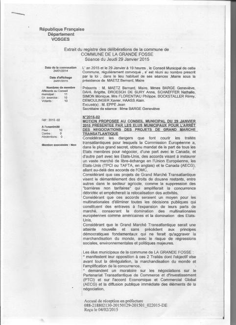 La Grande Fosse 88 motion tafta 1
