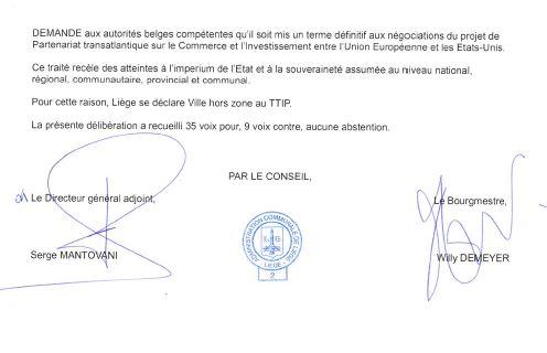 liege belgique motion tafta 3