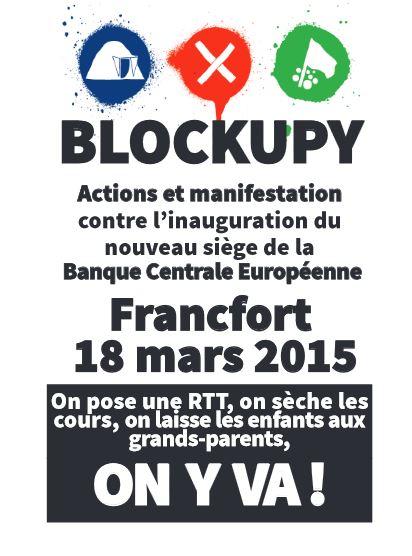 BCE 18 mars 2015 Blockupy 1