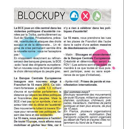 BCE 18 mars 2015 Blockupy 2