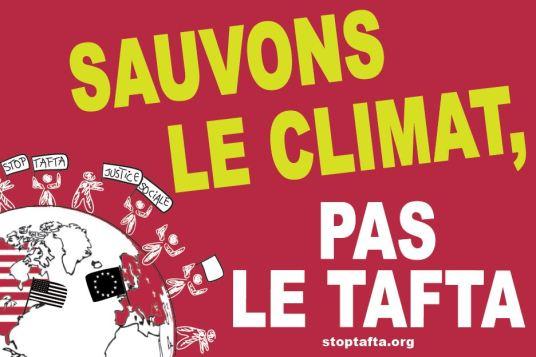 autocol 2 sauvons le climat pas le tafta