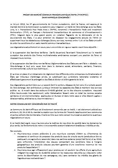 saint affrique motion 1