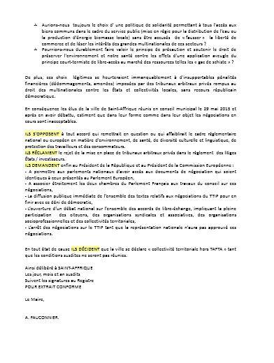 saint affrique motion 2